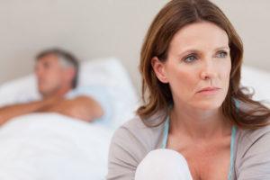 En man har varit otroghen mot sin fru